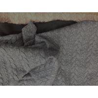 Жаккард серый
